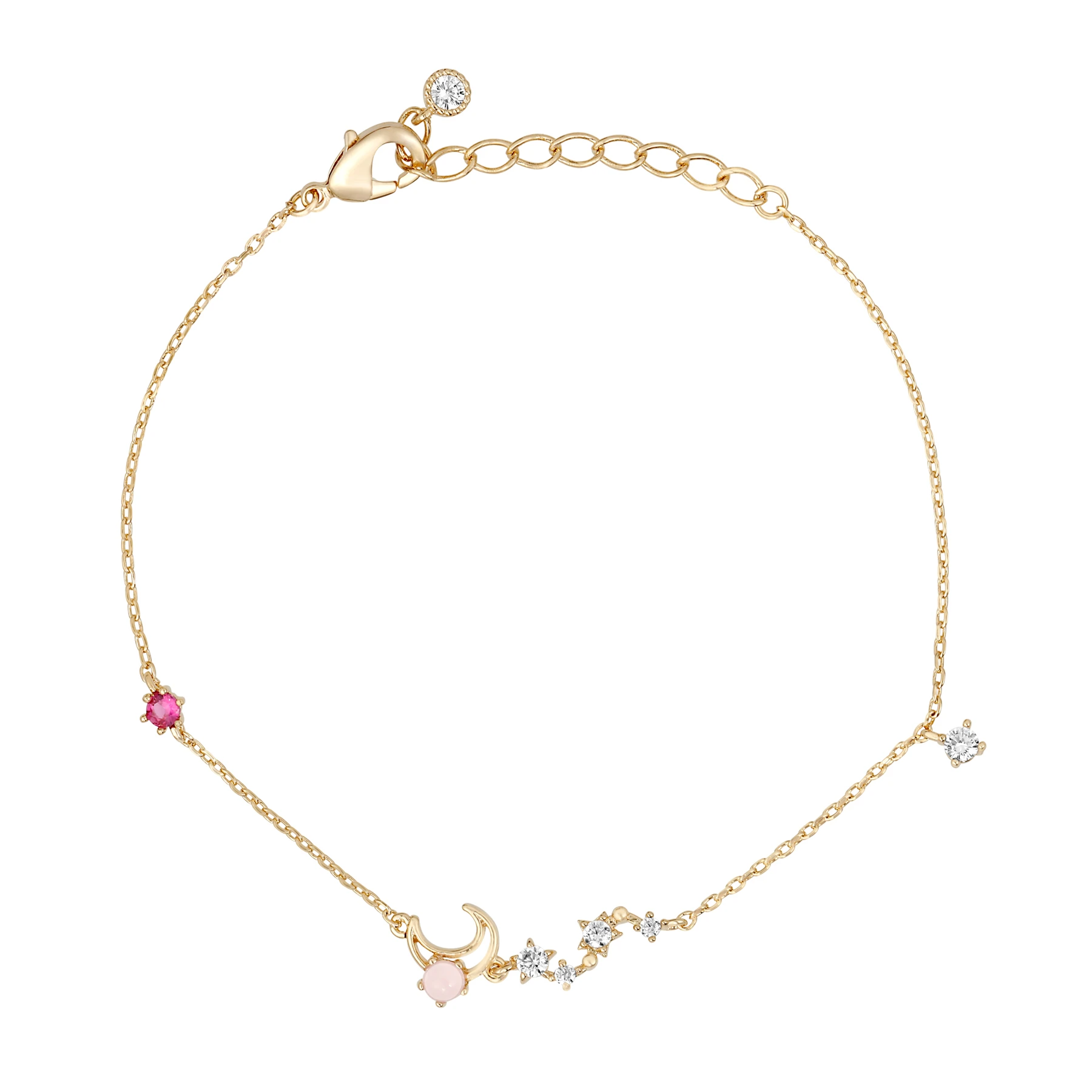 Dancing on the Moon Bracelet | Gold