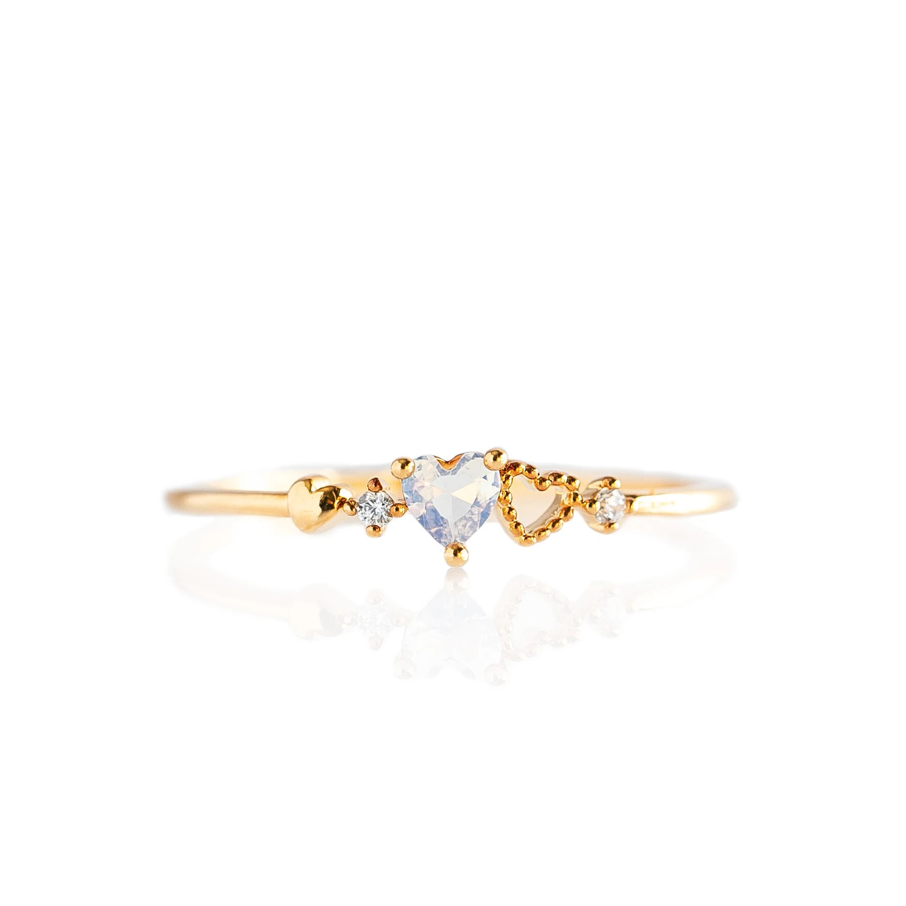 Forever Love Ring | Gold
