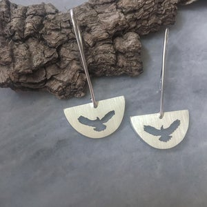 Half Moon Drop Earrings | Eagle