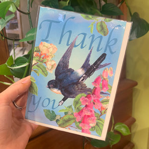 Thank You Bluebird | Card