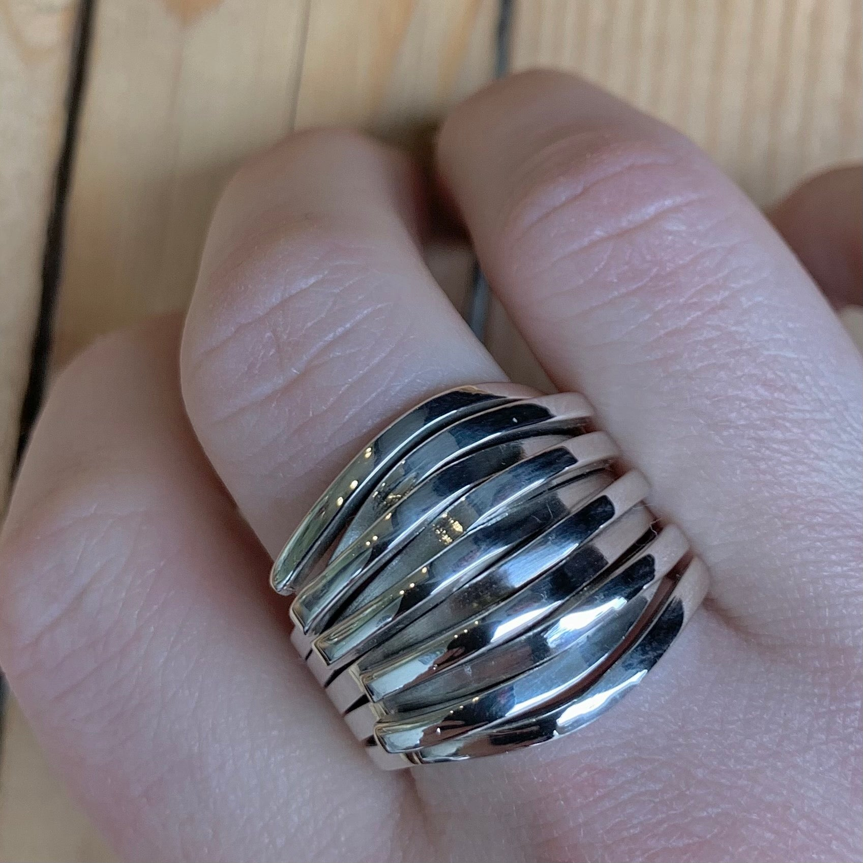 Sterling Statement Ring | Size 9