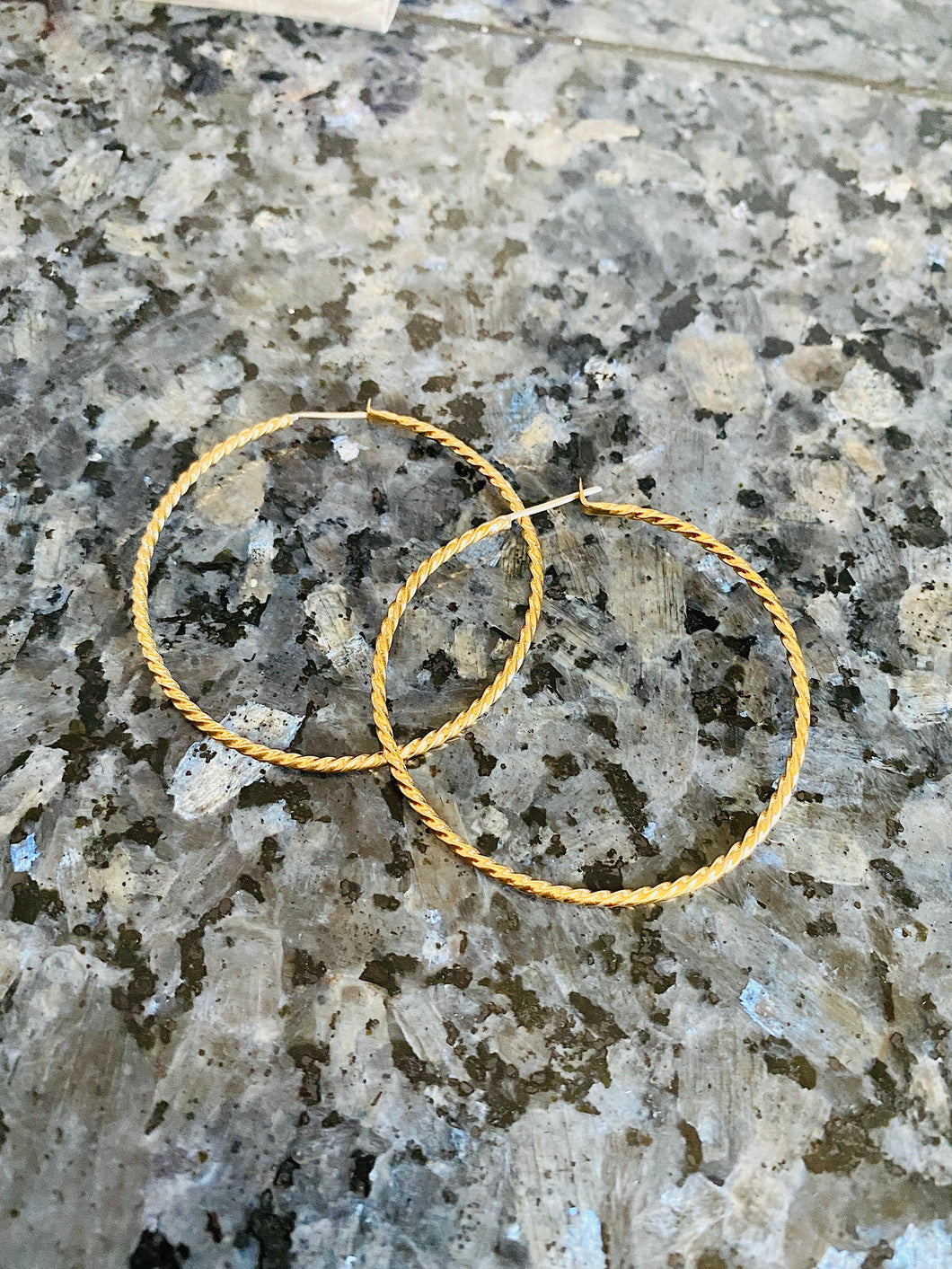 Brass Rope Hoops