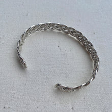 Load image into Gallery viewer, Braided Sterling Silver Cuff