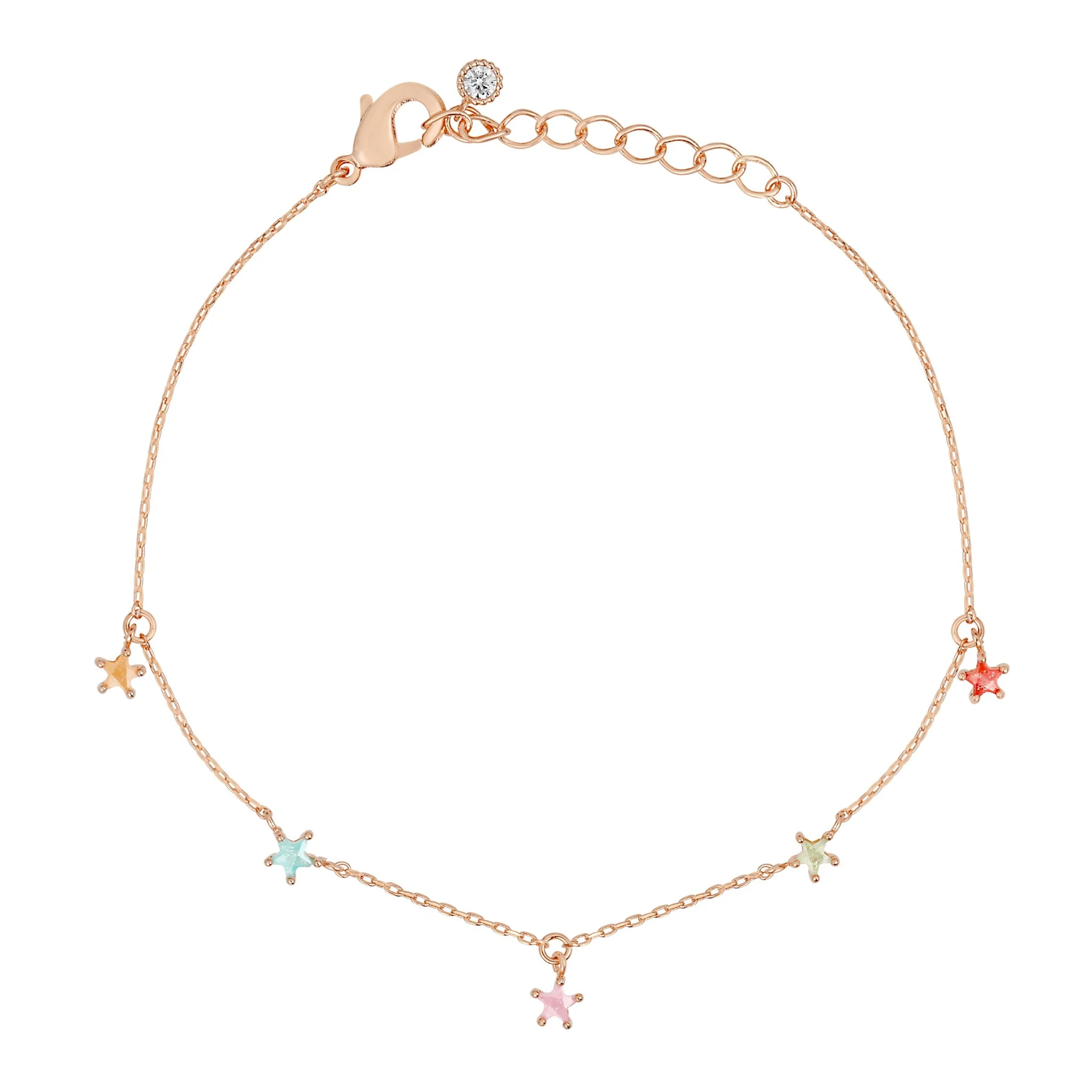 Lucky Star Charm Bracelet | Gold