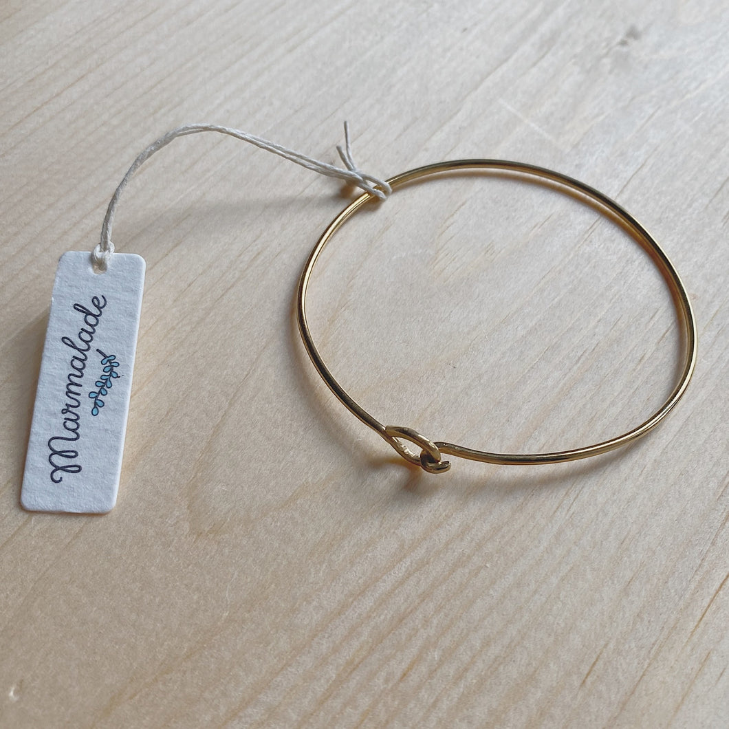 Brass Hook Bangle