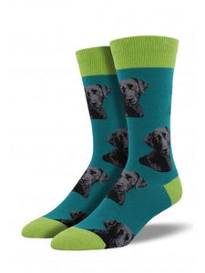 Lab-or Of Love Socks | Teal