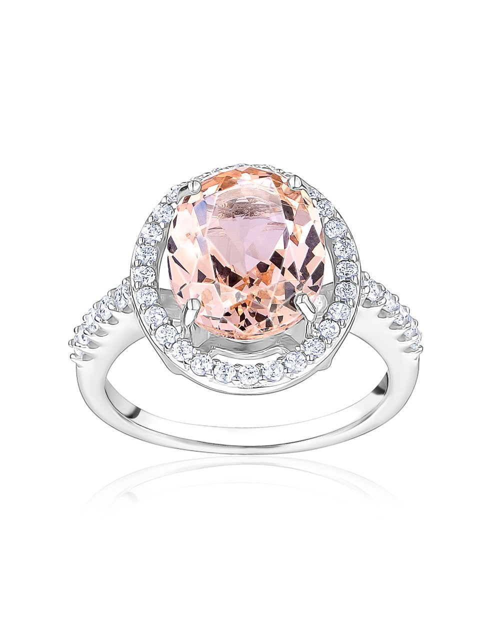 Nano Morganite Ring