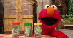 Elmo Learns About Money - The Spend, Save, Give Jars