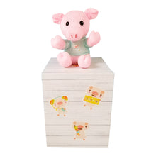 Load image into Gallery viewer, Stuffed Pig Plush Toy 6""