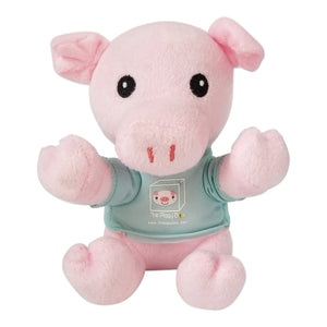 Stuffed Pig Plush Toy 6""