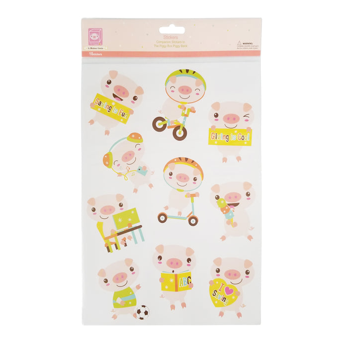 The Piggy Box Sticker Pack