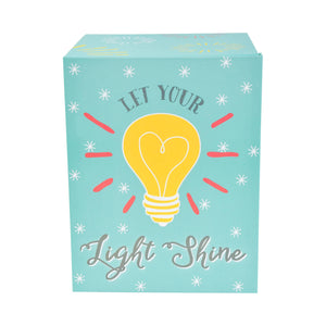 Light Shine Piggy Box
