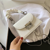 Super Mini PU Leather Crossbody Bags For Women 2020 Simple Shoulder Handbags Female Cross Body Bag Lipstick Purses