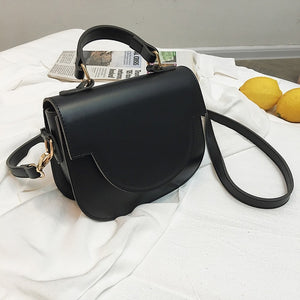 PU Leather Crossbody Bag For Women 2020 Fashion MINI Shoulder Simple Bag Female Simple Handbags and Purses Totes