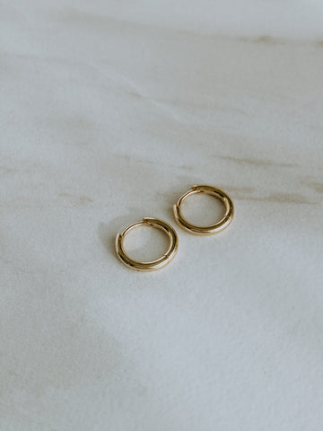 18k gold-plated my everyday huggies