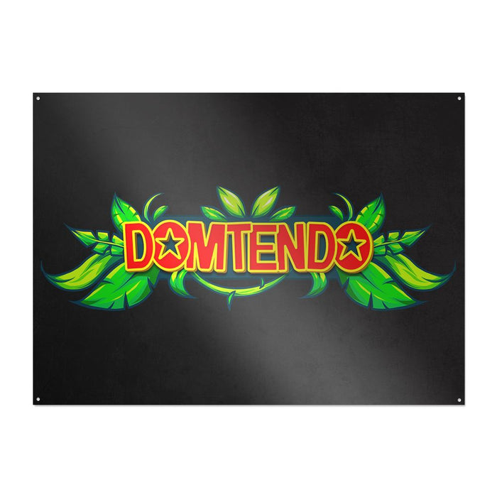 Domtendo - Jungle Logo - Metallschild