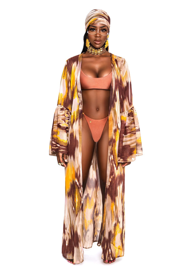 Kaya Cover-up and scarf