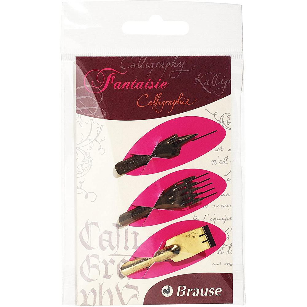 Brause Fantasy Nib (Set of 3) 16504B