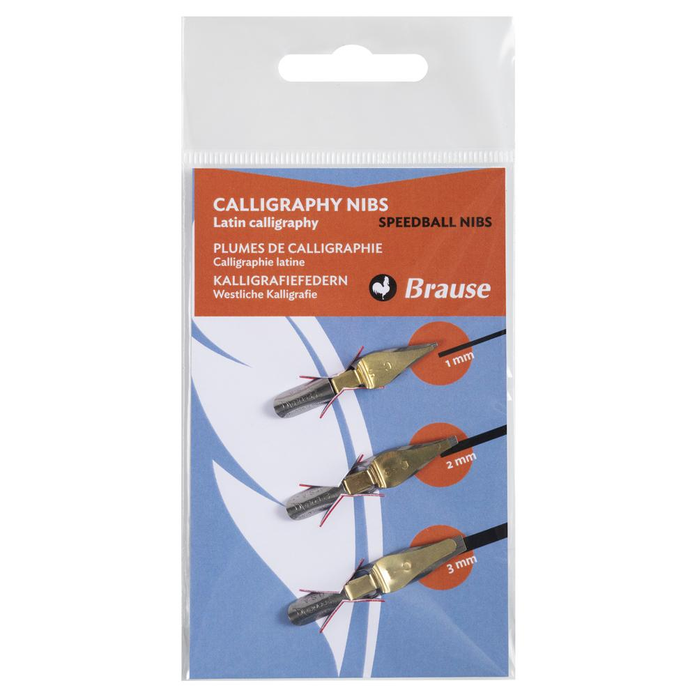 Brause Speedball Nib (Set of 3) 16505B