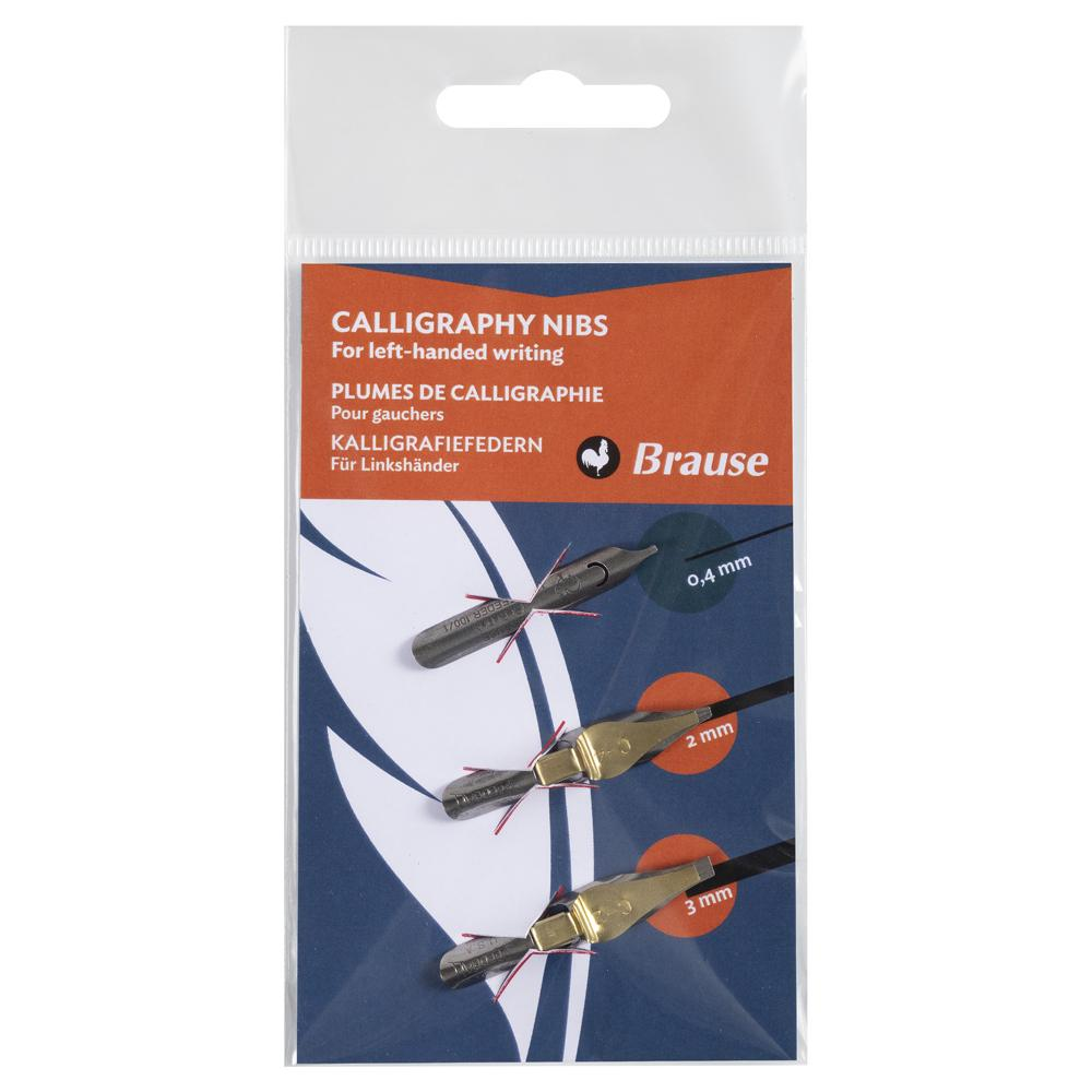 Brause Left Handed Nib (Set of 3) 16506B