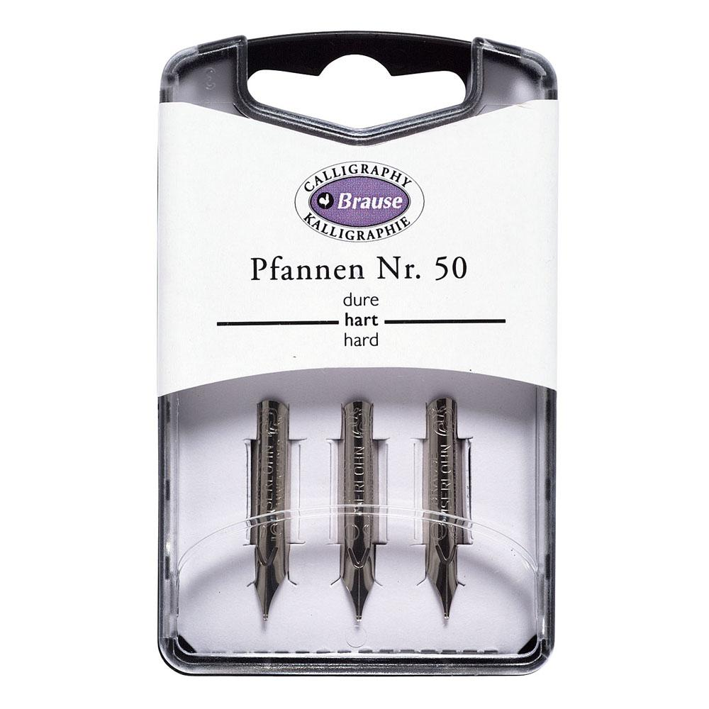 Brause Writing Pfannen Nib (Pack of 3) 300050B