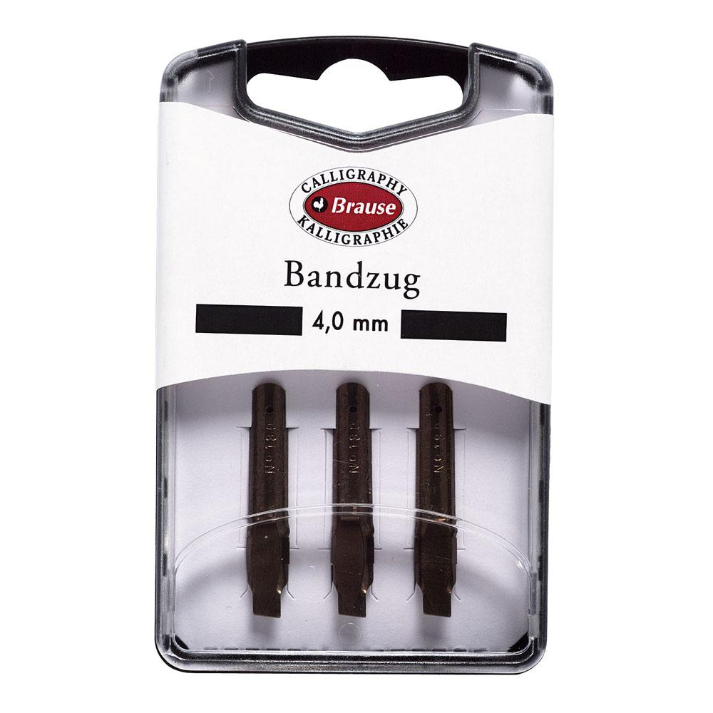 Brause Bandzug 4.0 MM Nib (Pack of 3) 318040B