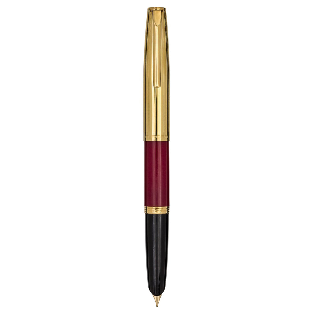 Aurora Duo Cart Burgundy Fountain Pen