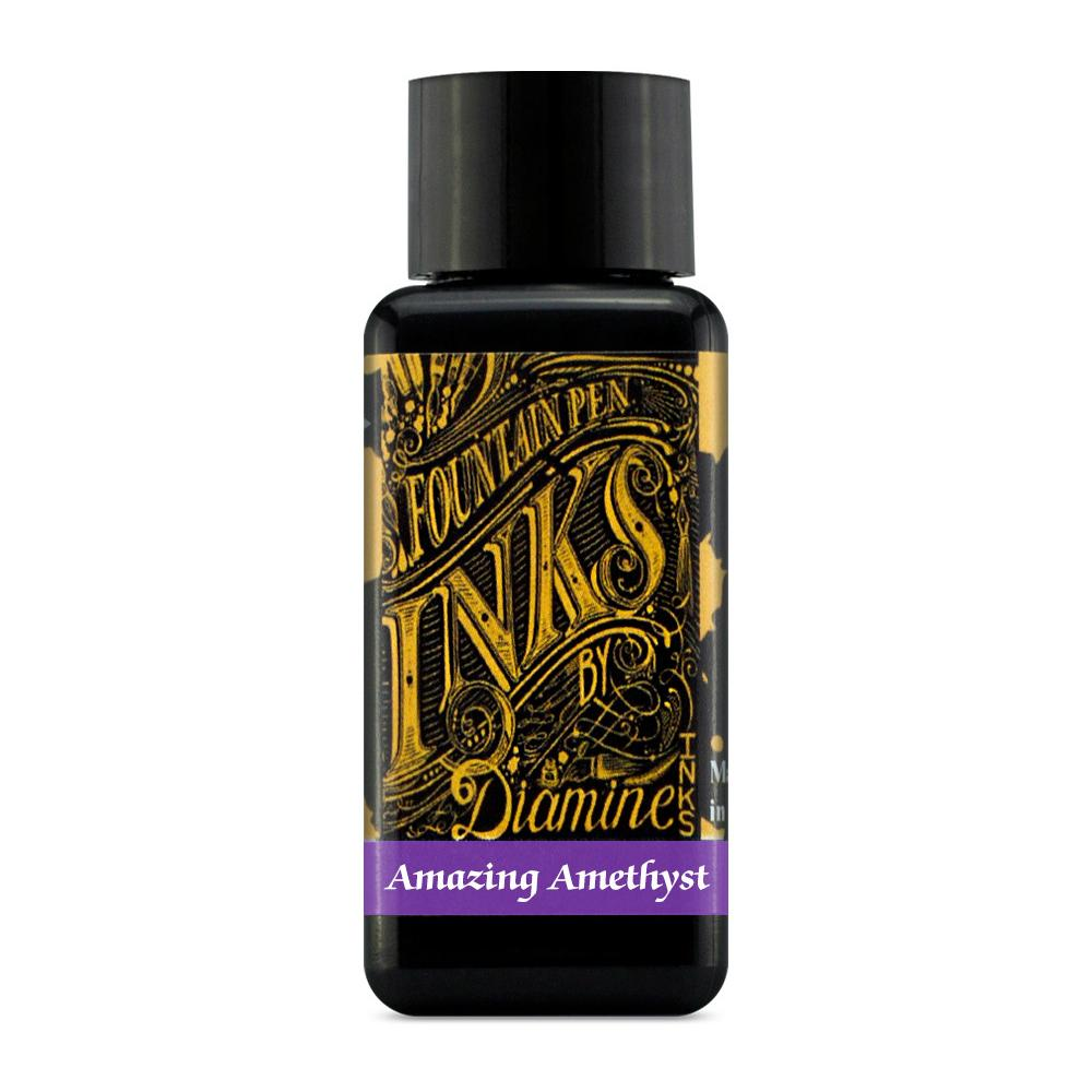 Diamine Ink Bottle (Amazing Amethyst - 30ML) 829075