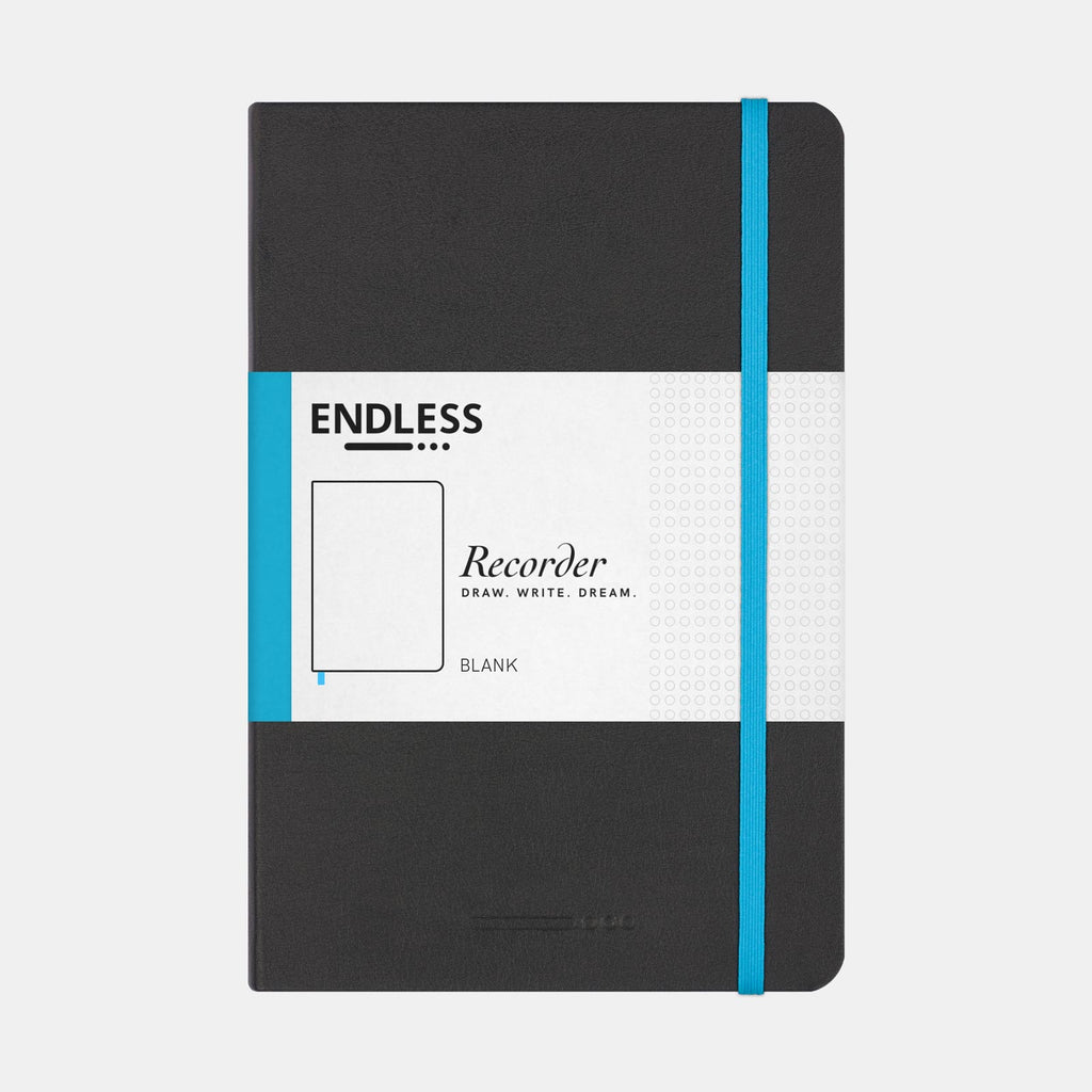 Endless Recorder Infinite Space Notebook (Plain - A5) EWRISB