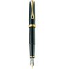 Diplomat Excellence A2 Black Lacquer Gold 14K Gold Fountain Pen
