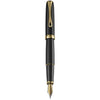 Diplomat Excellence A2 Black Lacquer Gold Fountain Pen