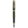 Diplomat Excellence A2 Evergreen/Gold 14K Gold Fountain Pen