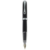 Diplomat Excellence A2 Lapis Black Matt Chrome 14K Gold Fountain Pen
