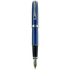 Diplomat Excellence A2 Midnight Blue/Chrome 14K Gold Fountain Pen