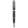 Diplomat Excellence A Plus Rhomb Guilloche Lapis Black Fountain Pen
