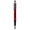 Diplomat Magnum Soft Touch Red Fountain Pen