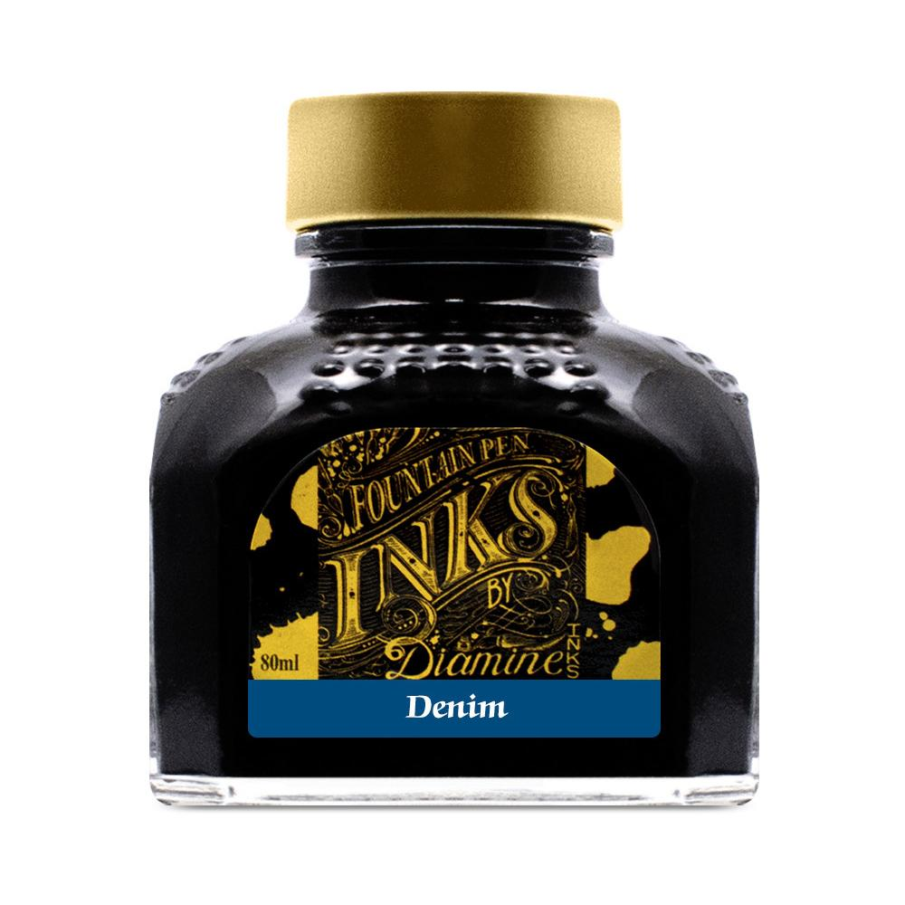 Diamine Ink Bottle (Denim - 80ML) 827781