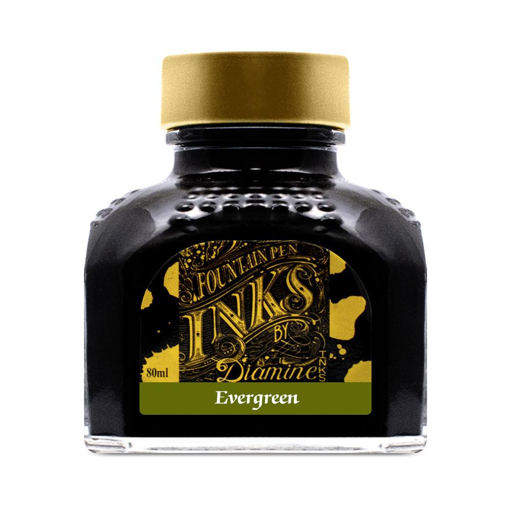 Diamine Ink Bottle (Evergreen - 80ML) 827934