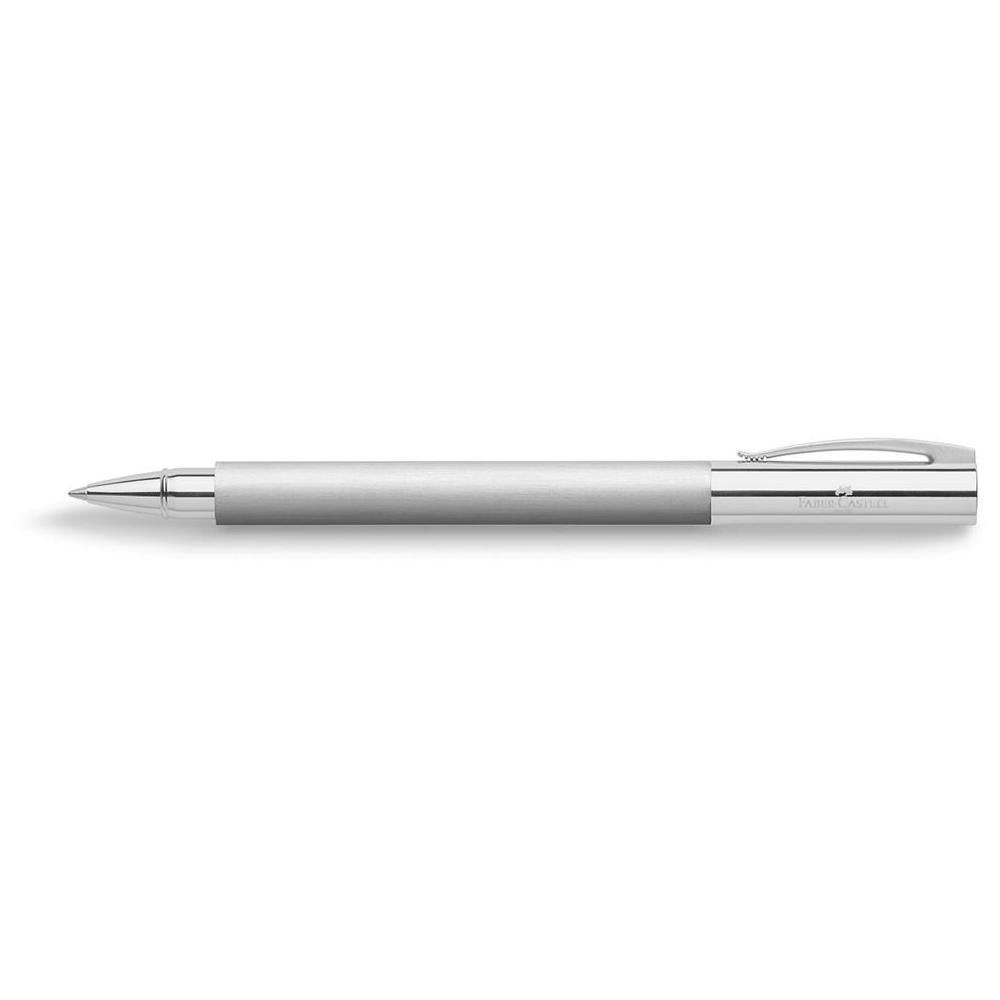 Faber-Castell Ambition Brushed Steel Roller Ball Pen 148122