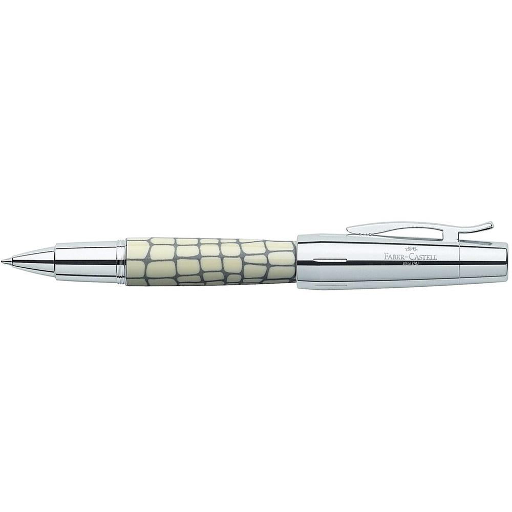 Faber-Castell Emotion Croco Ivory Roller Ball Pen 148255