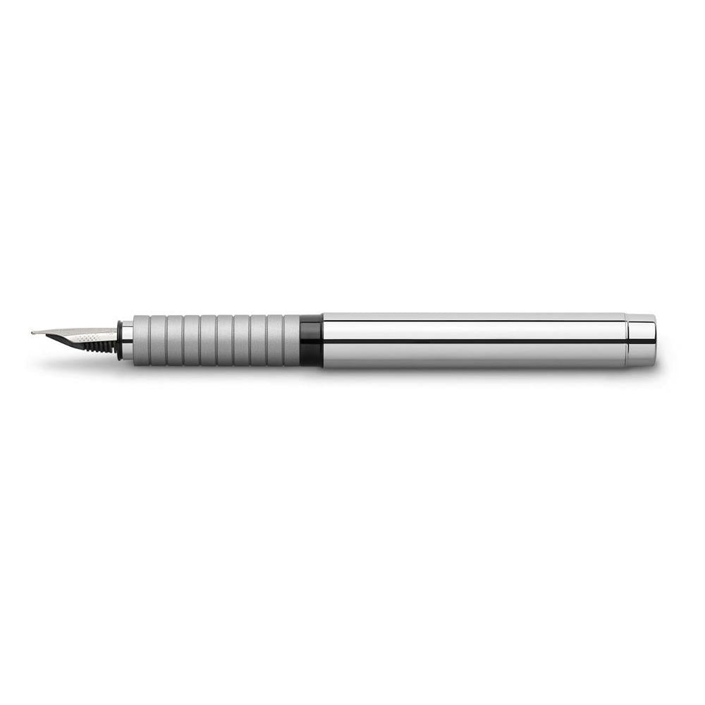 Faber-Castell Essentio Metal Polished Fountain Pen