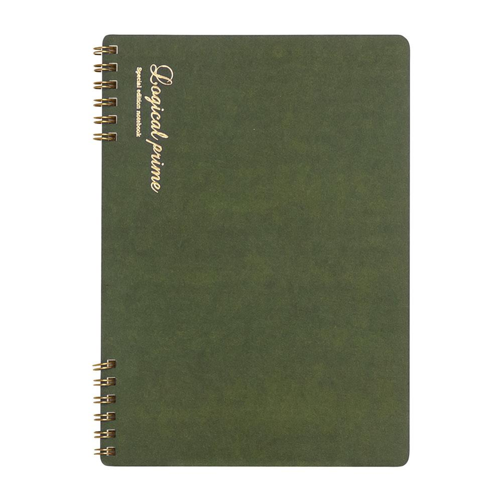 Logical Prime Wire Bound Notebook (Line Ruled - B5) NW-B512 A