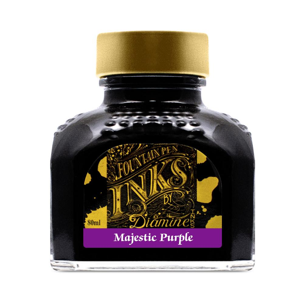 Diamine Ink Bottle (Majestic Purple - 80ML) 827750