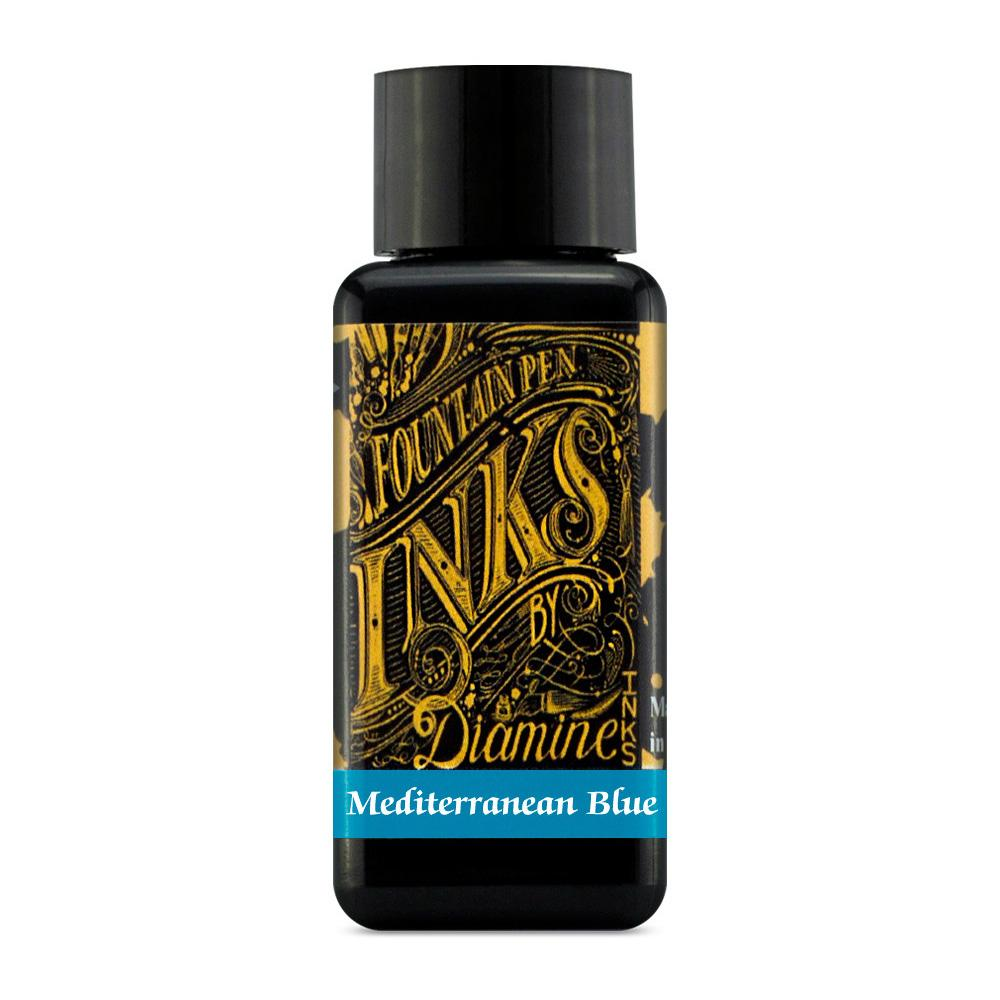 Diamine Ink Bottle (Mediterranean Blue - 30ML) 828931