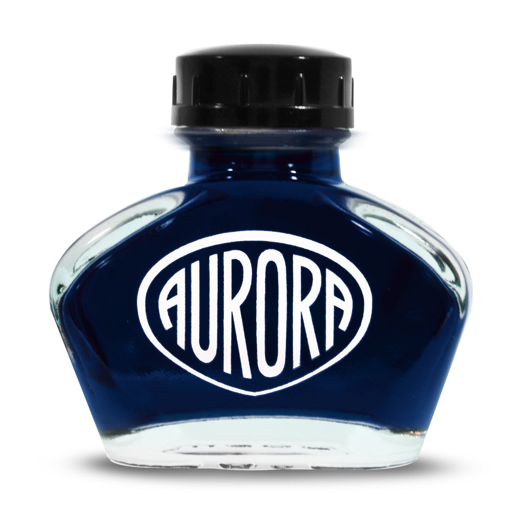 Aurora Anniversary Edition Ink Bottle (Blu/Blue - 55ML) NC124-B