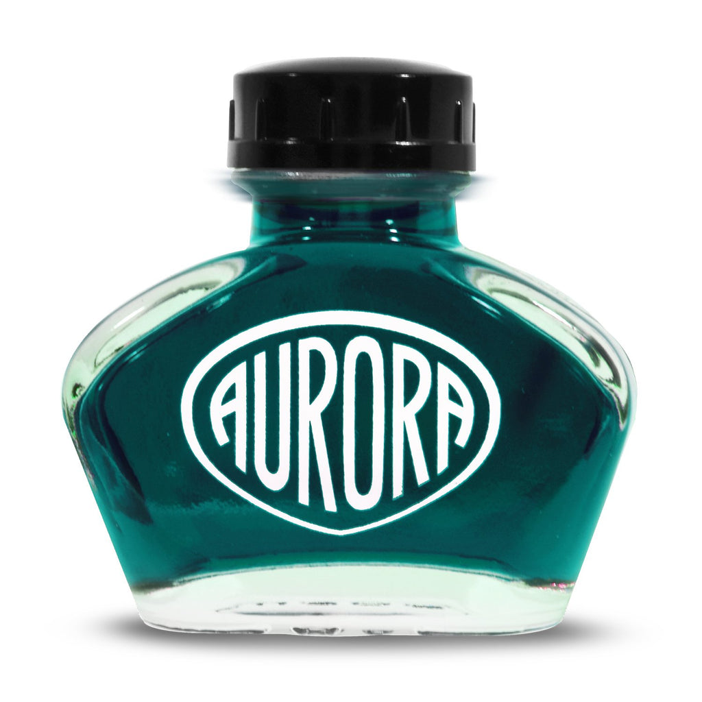 Aurora Anniversary Edition Ink Bottle (Turchese/Turquoise - 55ML) NC124-TU