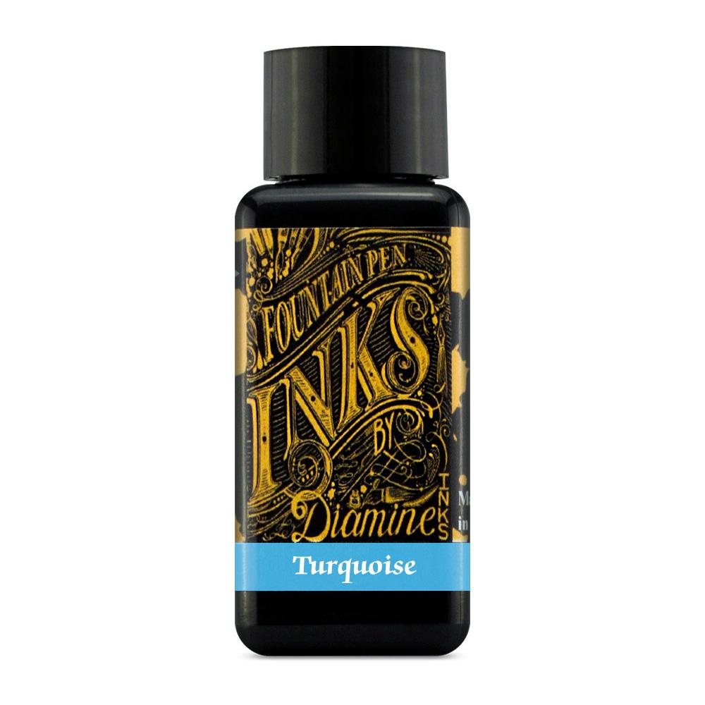 Diamine Ink Bottle (Turquoise - 30ML) 828795