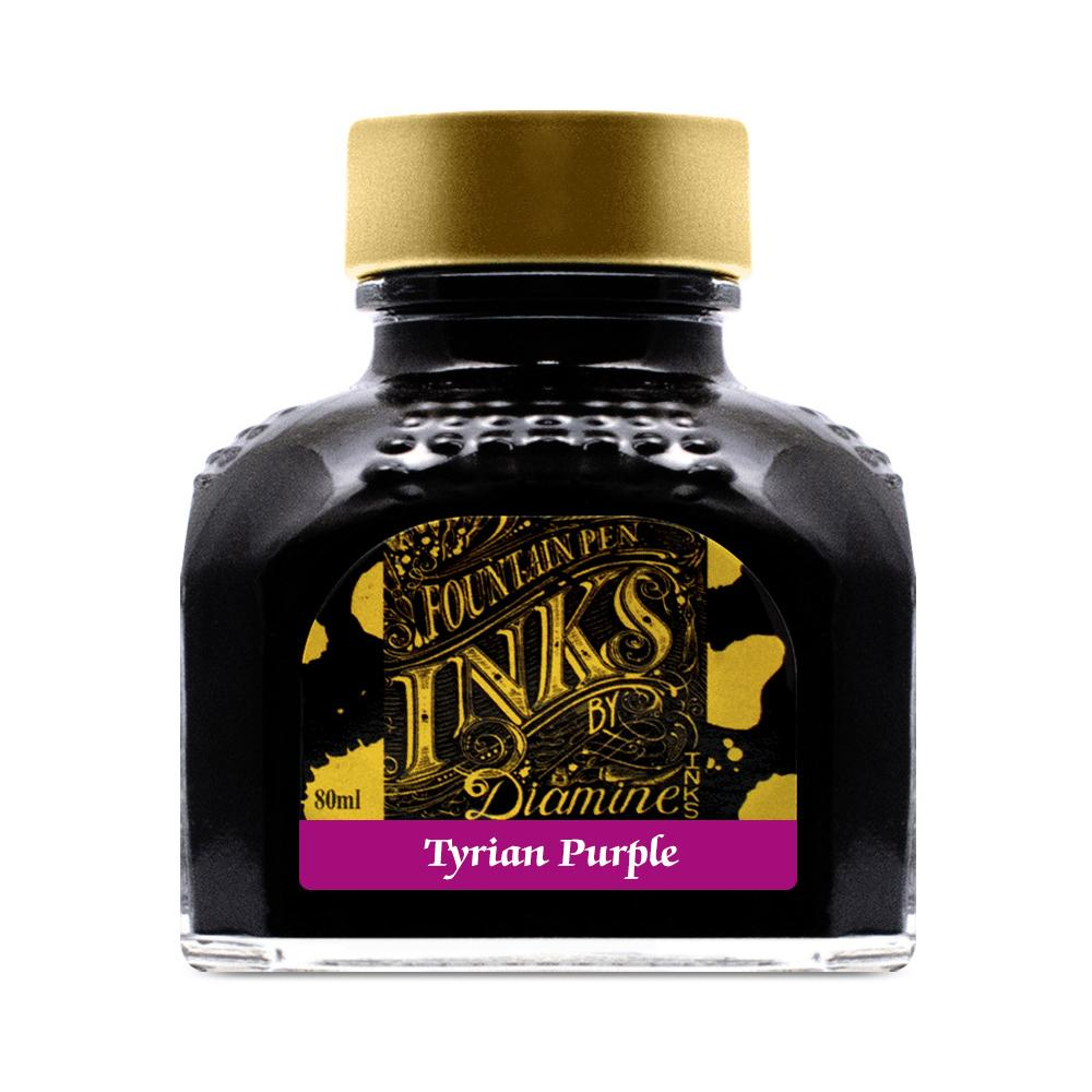 Diamine Ink Bottle (Tyrian Purple - 80ML) 832525
