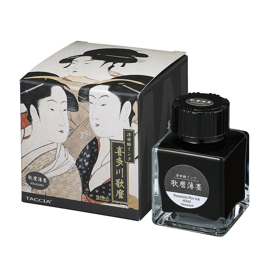 Taccia Ukiyo-e Ink Bottle (Usuzumi - 40ML) TFPI-WD42-15