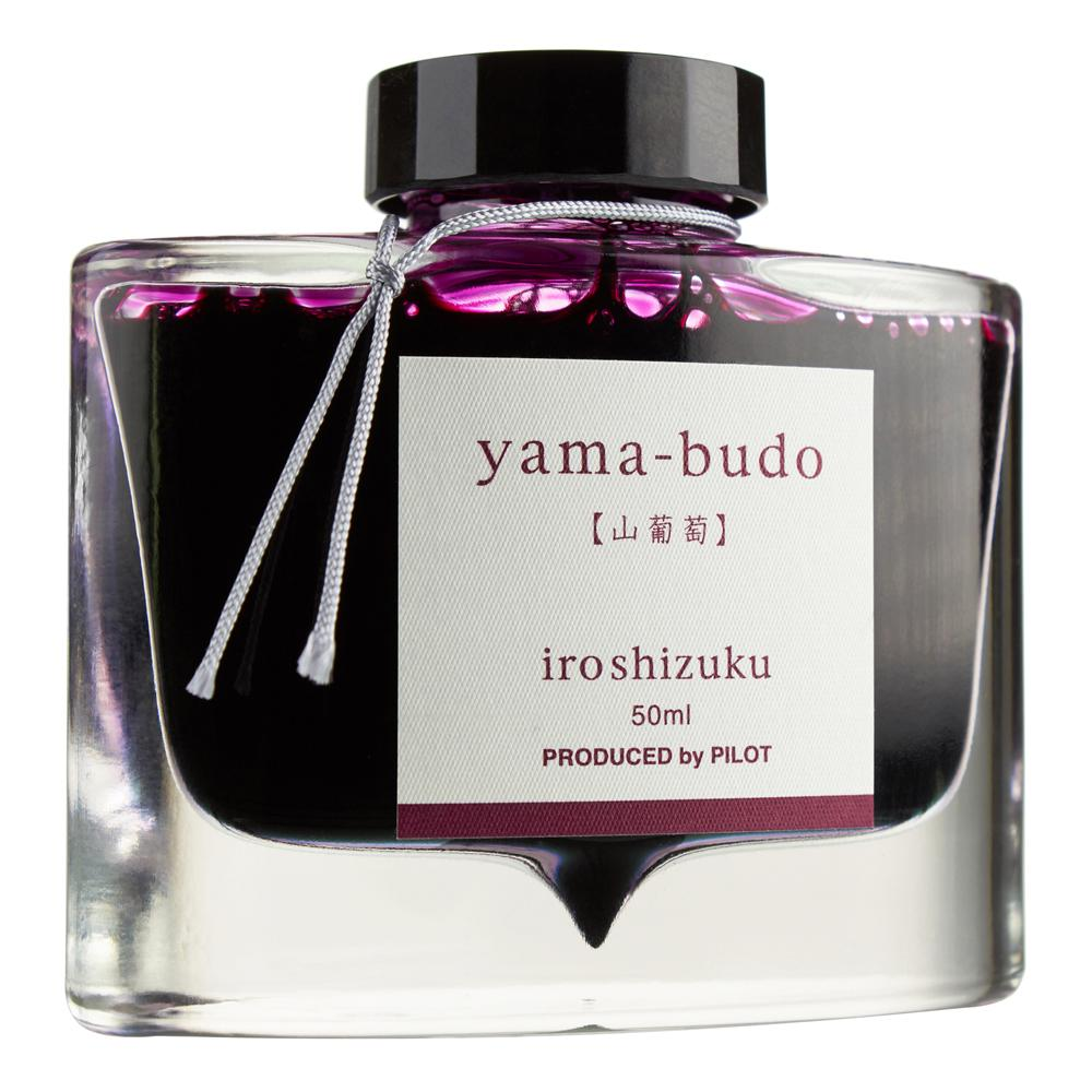 Pilot Iroshizuku Ink Bottle (yama-budo - 50ML) 50-YB